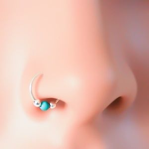 Tribal Nose Ring - gold, silver, & rose!